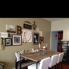 The dining room of my row home in South Philly Becky style! Cant wait to come play!