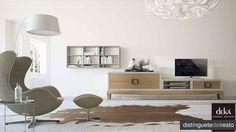 """Una combinación actual y elegante ideal para vestir tu hogar de sensaciones relajantes. Deka """"distinguetedelresto"""""""