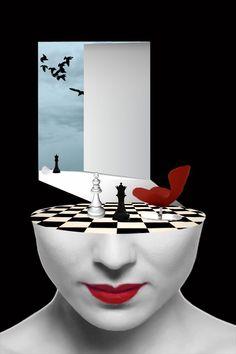 - Arte surrealista de Grigoriou panagiotis |  Arte y Diseño Fantasy Kunst, Fantasy Art, Surrealism Photography, Art Photography, Image Illusion, Surrealism Painting, Art Moderne, Surreal Art, Photo Manipulation