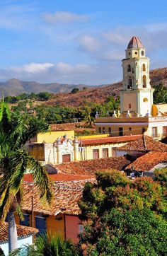 Historic landmark with Spanish #architecture in old #Cuba