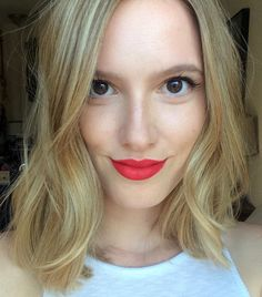 Bare face, Bold lip