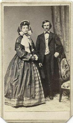 proper Victorian couple