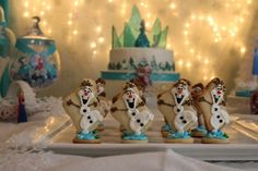 Claire's Frozen Party  | CatchMyParty.com