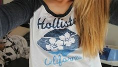 Holister .lol i have this shirt