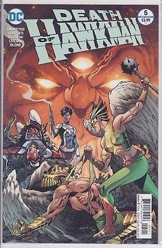 DEATH OF HAWKMAN #5 DC Comics 2017