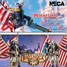 Anda penggemar video game Bioshock? Dapatkan Action Figure Motorized Patriot di http://fargo2001.com/bioshock-infinite-motorized-patriot-washington-318.html?search=patriot . Action Figure dari tokoh karakter lainnya juga tersedia !