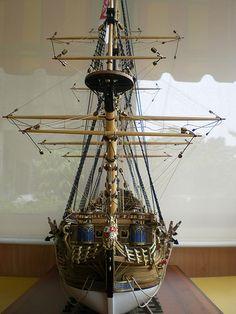 遙控與模型 - 16世紀,西班牙皇家海軍戰列艦,聖菲利浦號, 木製帆船. - 生活討論區 - Mobile01行動版