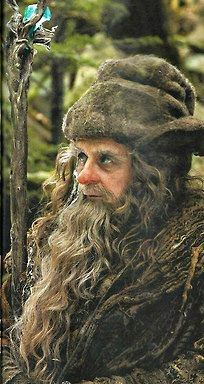 Radagast the Brown. Cool as hell. If you are going for the beard, go for the mad methusela look