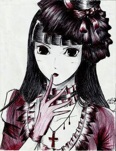 Wallflower Anime, Anime Life, I Tattoo, Gothic, Eyes, Dark, Elegant, Character Sketches, Classy