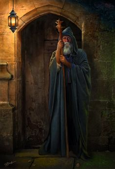 Elder Xan.  The Hermit by bnolin.deviantart.com on @deviantART