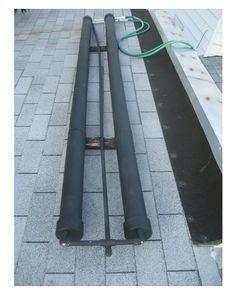 Solar power - DIY PVC Pipe Solar Water Heater - Turn 2 PVC pipes into a portable solar water heater.