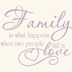 Family Love Quote Vinyl Wall Decal Sticker Art-Words/Lettering Home Décor:Amazon:Home & Kitchen