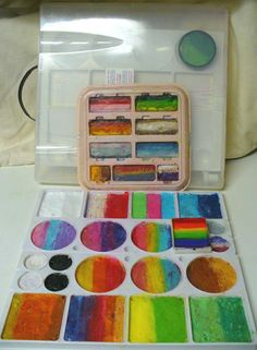 Brush Washer Holder Container Facepainting Face Painting Artist Water Paint Art Supplies