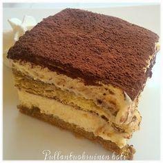 Pullantuoksuinen koti: Ihanista ihanin Tiramisu Something Sweet, Sweet Tooth, Deserts, Goodies, Food And Drink, Pie, Chocolate, Baking, Ethnic Recipes