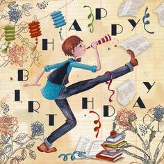 Verjaardagskaart Jongen (Cartita Design ©2015)