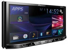 """DVD Automotivo Pioneer AVH-X5880TV Tela 7"""" - 2 Din Entrada Auxiliar/ USB Bluetooth e Mixtrax com as melhores condições você encontra no Magazine Bemmaispratico. Confira!"""