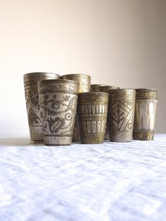 Lassi Cup // India // Vintage // Punjab by gardenofsimples on Etsy, $58.00