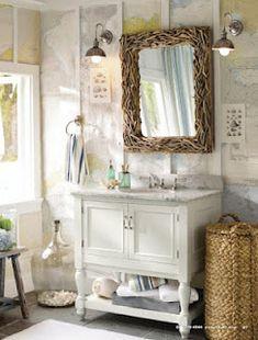 Pottery Barn Bathroom... love this!!!!!