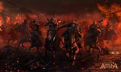 ArtStation - Total War:Attila, Mariusz Kozik