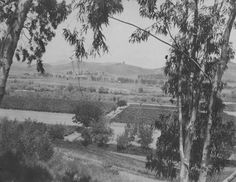 From Elysian Park toward Cypress/Glassell Circa 1898: 25 Photos of the Los Angeles River Before It Was Paved in 1938 - Sepia Tones - Curbed LA