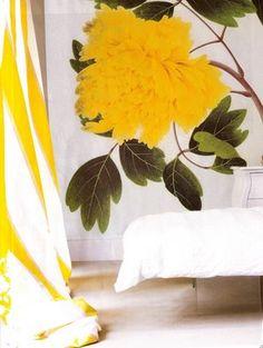 Bold yellow (wallpaper?)