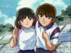 Yayoi Aoba and Jun Misugi
