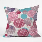 Found it at Wayfair - Rachael Taylor Textured Geo Woven Polyester Throw Pillow