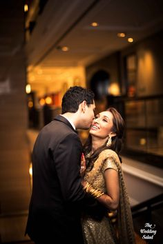 Wedding Portrait | Indian Wedding | Sabyasachi | Photo by The Wedding Salad