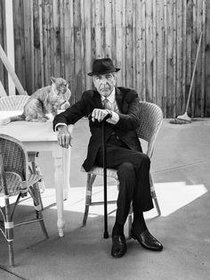 Photo fetiche: Um retrato de Leonard Cohen / Leonard Cohen's port...