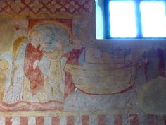 Fr Holtzbad Chapelle Saint-Ulrich Isaac and his sons fresco 2.jpg