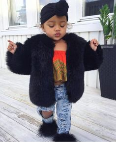 Fashion Kids Girl Black Beautiful Babies Ideas For 2019 - In the first months . - Fashion Kids Girl Black Beautiful Babies Ideas For 2019 – In the first few months, your baby - Fashion Kids, Little Girl Fashion, Fashion Outfits, Fashion Shoot, Fashion Clothes, Runway Fashion, Fashion Design, Fashion Trends, Cute Mixed Babies