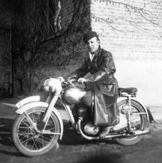 old motorcycle Jawa 1940