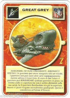 DOOMTROOPER-GREAT-GREY-ITA-WARZONE-MUTANT-CHRONICLES Mutant Chronicles, Shadowrun, Goblin, Card Games, Baseball Cards, Grey, Gray, Playing Card Games