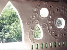 Voice of Nature - Cob house at Shamballa Permaculture.