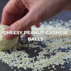 These high protein Cream Cheesy Peanut Cashew Balls are simply, delicious and perfect for Keto diets!