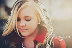 Keep your chin up, Princess, or your crown will fall.. Senior picture for girls