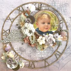 Layout made for 2Crafty Chipboard