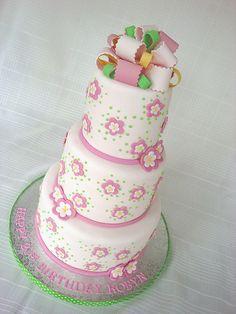 21st Birthday Cake by springlakecake, via Flickr