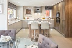 The kitchen is in the 'Ula' show home at One Eight Zero, the new David Wilson Homes development at Bedhampton Hill. It fulfils everything you want for any technical challenge and is indeed a showstopper – carefully crafted and with an immediate 'wow factor'.