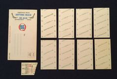 Vintage 1968 Daytona Beach Florida Jai Alai Hi Li Primer Brochure Wager Tickets | eBay