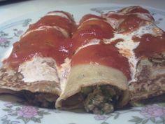 Receta Canelones de carne y acelga de Patricia Leite Strozzi