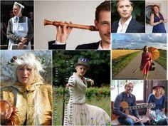 Tuinen en kunst 17 t/m 26 juni - 10.00 tot 17.00 uur. Omlijstend muziek- en theaterprogramma westerwolderijgt.nl