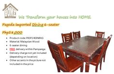 Dining Furniture, Dining Chairs, Wordpress, Facebook, Website, Twitter, Wood, House, Home Decor