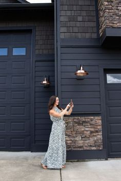 Learn how to update your home with smart home lighting! We are LOVING the outdoor smart home plug that turns out outdoor lights on and off! Element Lighting, Dim Lighting, Outdoor Lighting, Outdoor Decor, Smart Dimmer Switch, Outdoor Outlet, Dark House, All Of The Lights, String Lights Outdoor