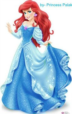Blue Ariel New Look - disney-princess Photo