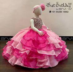 Wedding Saree Blouse Designs, Saree Wedding, Balloons Photography, Kids Dress Wear, Kids Dress Patterns, Kids Frocks Design, Cake Baby, Frock Design, Kids Corner