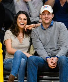 Mila Kunis and Ashton Kutcher might be trying to tell us something