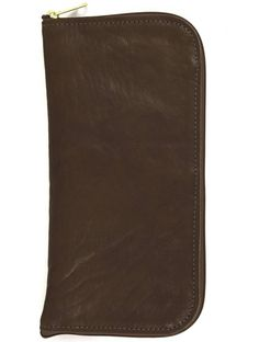 Jon Hart Design JH Travel Wallet Shown in Bourbon Leather