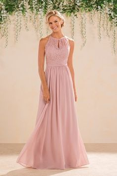 B2 Style B183016, Misty Pink, Sz. 14, $212 -Available at Debra's Bridal Shop at The Avenues, 9365 Philips Hwy., Jacksonville, FL 32256, (904) 519-9900. Dresses available in various colors, styles and sizes. Call us for your consultant appointment.