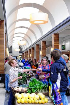 The Shops at Worthington Place again has opened its doors to the merchants and shoppers of the weekly Worthington farmers market.